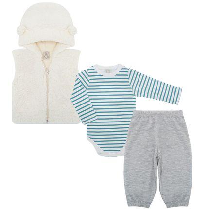 PL65986_AA-moda-bebe-menino-conjunto-body-longo-calca-touca-mescla-Pingo-Lele-no-Bebefacil-loja-de-roupas-e-enxoval-para-bebes