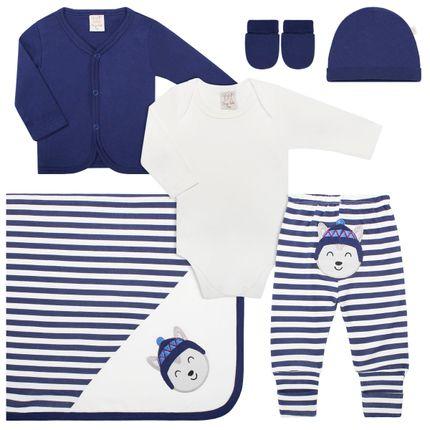 PL66047_A-moda-bebe-menino-jogo-maternidade-casaco-body-longo-calca-mijao-touca-luva-manta-em-suedine-husky-no-bebefacil-loja-de-roupas-enxoval-e-acessorios-para-bebes