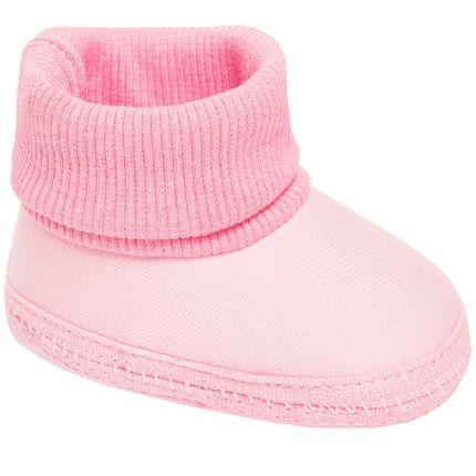 KB2001-7-sapatinho-bebe-menina-pantufa-em-malha-rosa-keto-beby-no-bebefacil-loja-de-roupas-enxoval-eacessorios-para-bebes