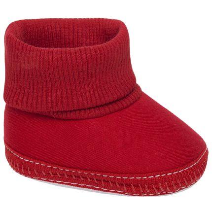 KB2001-40-sapatinho-bebe-menino-menina-pantufa-em-malha-vermelha-keto-beby-no-bebefacil-loja-de-roupas-enxoval-eacessorios-para-bebes