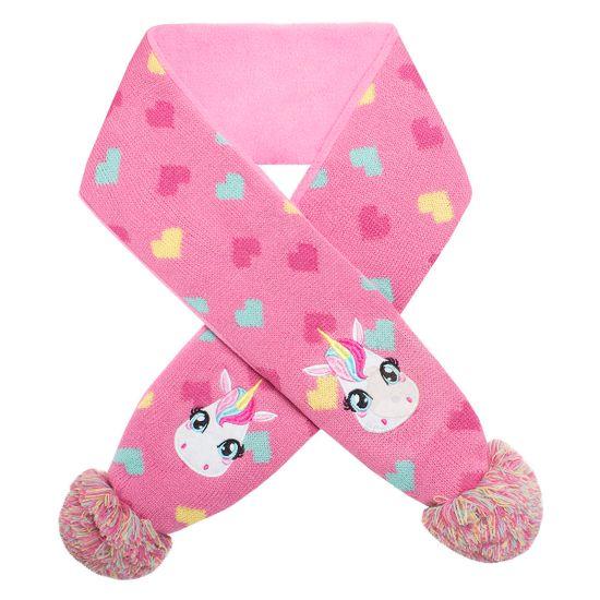 PK0505-UNI_A-moda-bebe-infantil-menina-cachecol-de-la-pompom-rosa-unicornio-Puket-no-bebefacil-loja-de-roupas-enxoval-acessorios-para-bebes