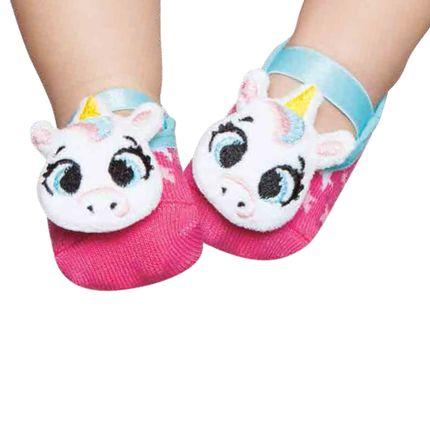 PK6957-UNI_A-moda-bebe-menina-meia-sapatilha-rosa-unicornio-Puket-no-Bebefacil-loja-de-roupas-enxoval-e-acessorios-para-bebes