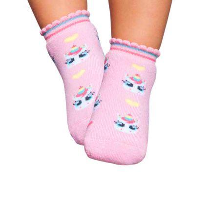 PK7013-UNI_A-moda-bebe-menina-meia-soquete-rosa-bebe-unicornio-Puket-no-Bebefacil-loja-de-roupas-enxoval-e-acessorios-para-bebes