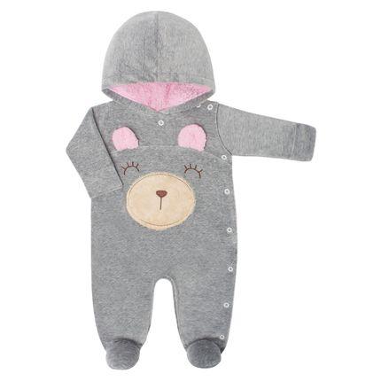 SK4827.01_A-moda-bebe-menina-macacao-longo-capuz-em-plush-ursinha-mescla-serelepe-no-bebefacil-loja-de-roupas-enxoval-e-acessorios-para-bebes