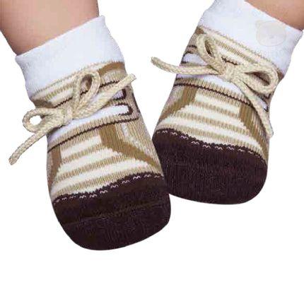 PK6936D-BG_A-Moda-bebe-menino-meia-tenis-com-aplique-bege-puket-no-bebefacil-loja-de-roupas-enxoval-eacessorios-para-bebes