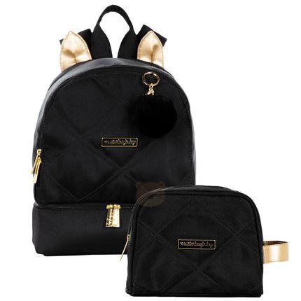 MB11SHO301.23---MB11SHO269-A-Mochila-Maternidade-Gatinho---Necessaire-Soho-Black---Masterbag