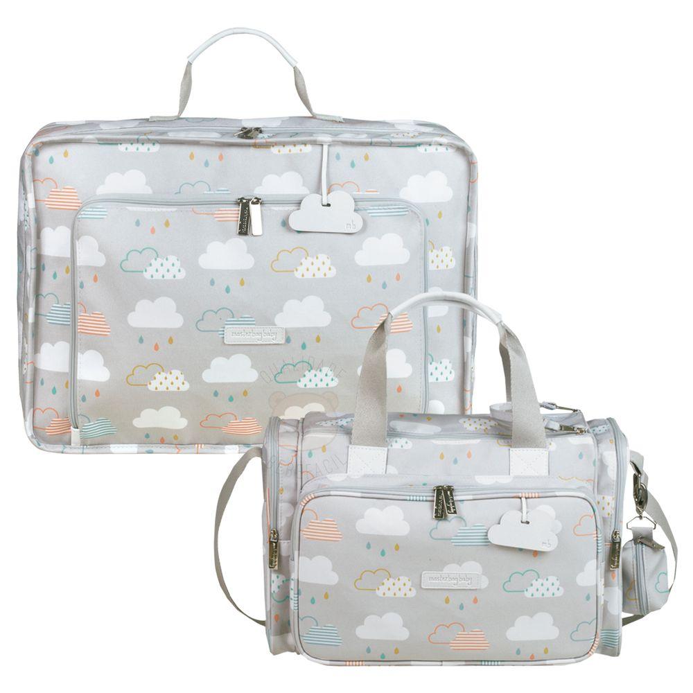 MB12NUV402.07---MB12NUV210.07-A-Mala-Maternidade-Vintage---Bolsa-Termica-para-bebe-Anne-Nuvem---Masterbag