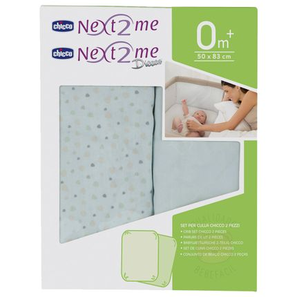CH9011-B-A-Kit-2-lencois-de-baixo-com-elastico-para-berco-Next2me-Light-Blue--0m-----Chicco