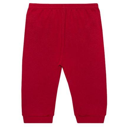 d44e39c805994 Calça (mijão) para bebê em suedine Vermelha - Tilly Baby no Bebefacil