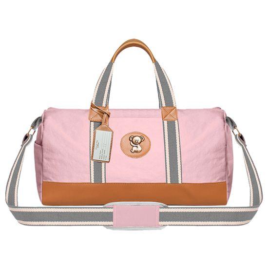 MA9024-A-Bolsa-Passeio-para-bebe-Adventure-em-sarja-Rosa---Classic-for-Baby-Bags