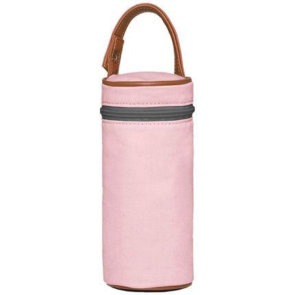 PMA9024-A-Porta-Mamadeira-para-bebe-em-sarja-Adventure-Rosa---Classic-for-Baby-Bags
