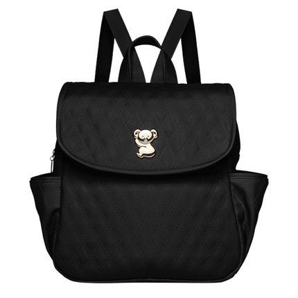 MK9045-A-Mochila-maternidade-Golden-Koala-Preta---Classic-for-Baby-Bags