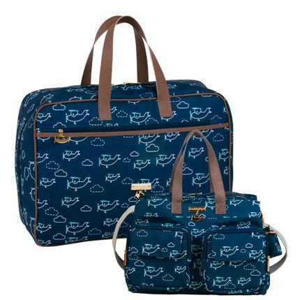 MB12HPN295.17---MB12HPN266.17-A-Mala-Maternidade-Vintage---Bolsa-para-bebe-Toulouse-Avioes---Masterbag