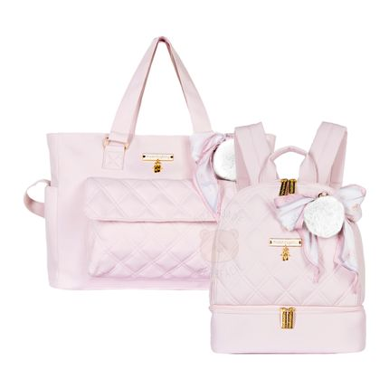 MB11BLT234.22---MB11BLT302-A-Bolsa-Sacola-Su---Mochila-Maternidade-Nina-Ballet-Rosa---Masterbag