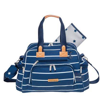 MB12NVY299.21-A-Bolsa-para-bebe-Everyday-Navy-Star-Marinho---Masterbag