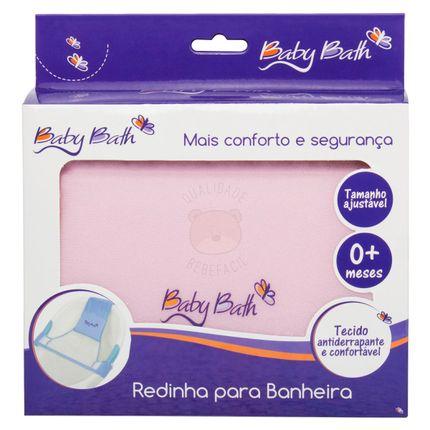 B21411-A-Redinha-ajustavel-para-banheira-Rosa--0m-----Baby-Bath