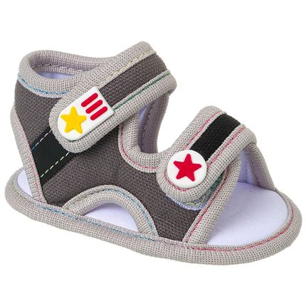 KB5228-182_A-sapatimhos-bebe-menino-papete-star-cinza-keto-baby-no-bebefacil-loja-de-roupas-enxoval-e-acessorios-para-bebes