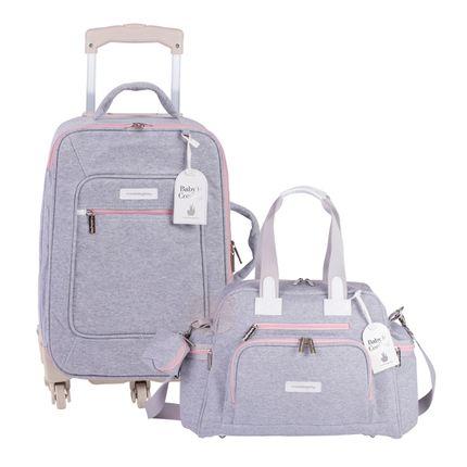 MB11MOL404.25---MB11MOL299.25-A-Mala-Maternidade-com-rodizio---Bolsa-para-bebe-Everyday-Moletom-Rosa---Masterbag