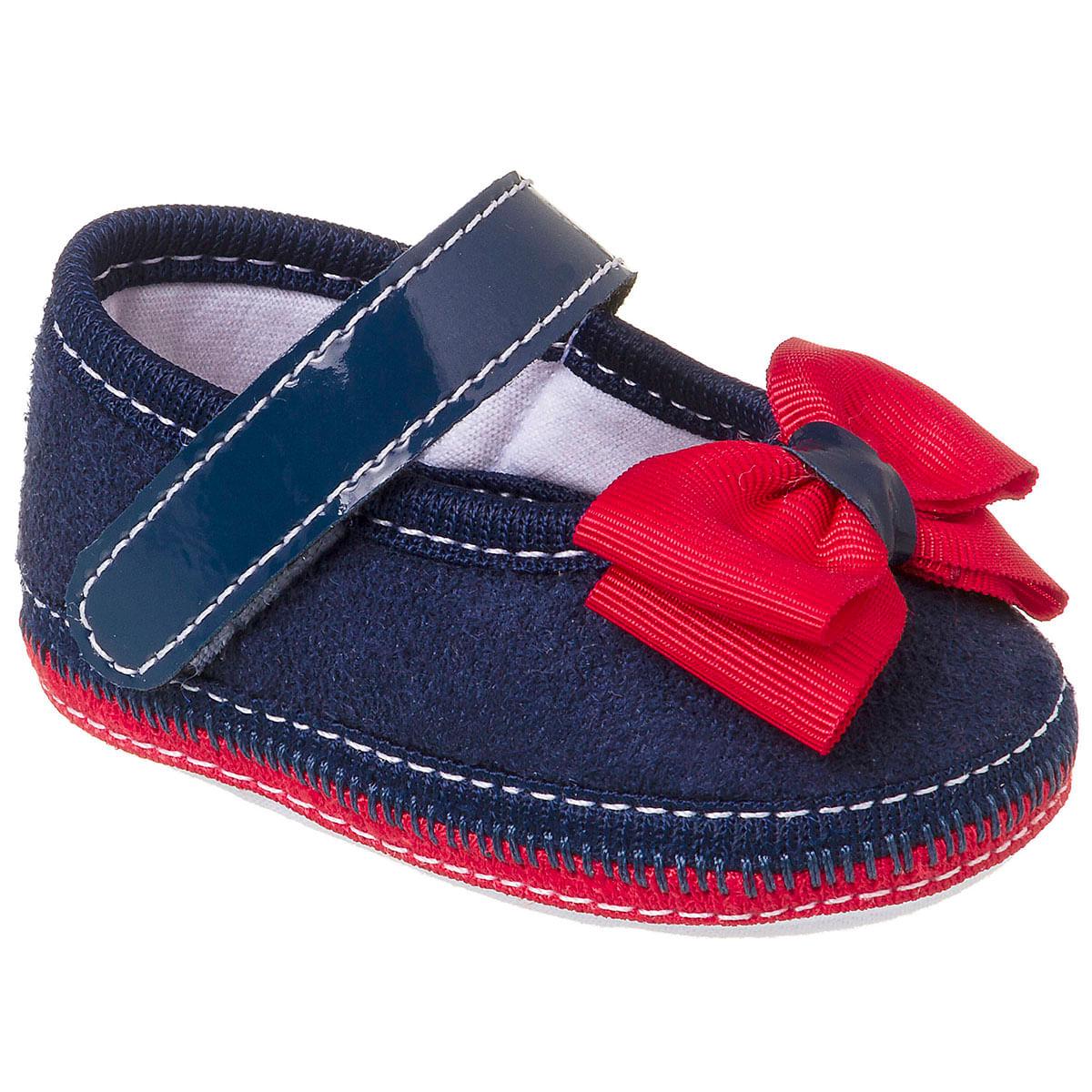 90b2d47cd Sapatilha para bebê Laço Navy - Keto Baby no Bebefacil, onde você encontra  tudo em roupas e enxoval para bebês - bebefacil