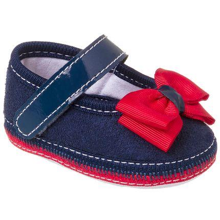 KB1098-5_A-sapatinhos-bebe-menina-sapatilha-laco-duplo-marinho-vermelho-keto-baby-no-bebefacil-loja-de-roupas-enxoval-e-acessorios-para-bebes