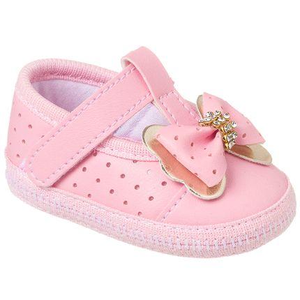KB1103-7_A-sapatinho-bebe-menina-sapatilha-furadinha-laco-strass-dourada-rosa-keto-baby-no-bebefacil-loja-de-roupas-enxoval-e-acessorios-para-bebes