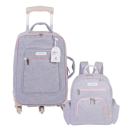 MB11MOL404.25---MB11MOL307.25-A-Mala-Maternidade-com-rodizio---Mochila-Maternidade-Noah-Moletom-Rosa---Masterbag