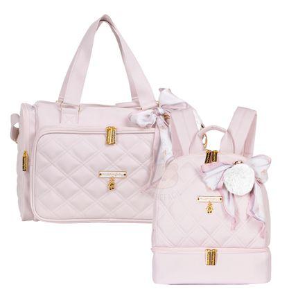 MB11BLT210.22---MB11BLT302.22-A-Bolsa-Termica-Anne---Mochila-Maternidade-Nina-Ballet-Rosa---Masterbag