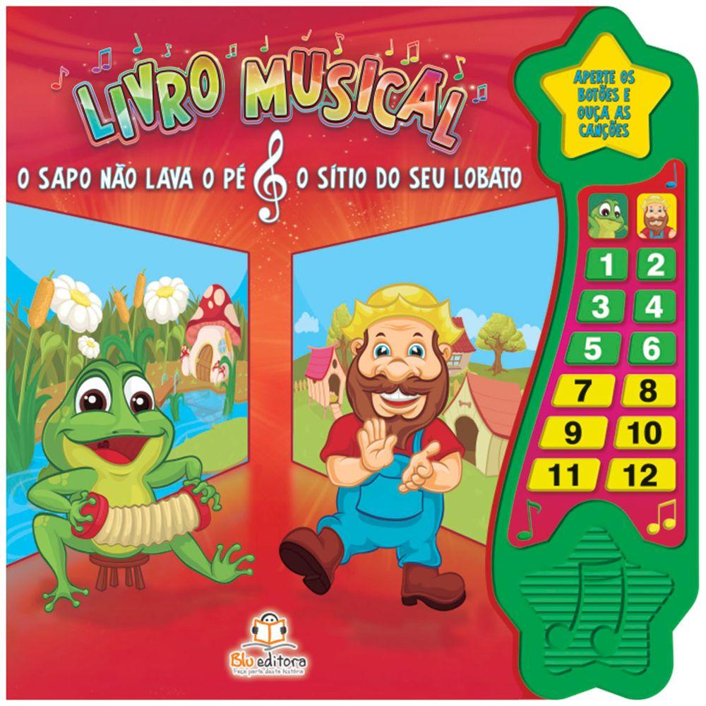 BLU473-A-passeio-e-brinquedos-livro-musical-o-sapo-nao-lava-o-pe-sitio-seu-lobato-blu-editora-no-bebefacil-loja-de-roupas-enxoval-e-acessorios-para-bebes