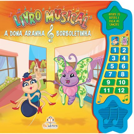 BLU474-A-passeio-e-brinquedos-livro-musical-a-dona-aranha-e-a-borboletinha-blu-editora-no-bebefacil-loja-de-roupas-enxoval-e-acessorios-para-bebes