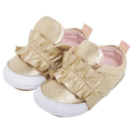 MC294.6072-OU_A-sapatinhos-bebe-menina-tenis-fufru-em-couro-dourado-maria-caramelo-no-bebefacil-loja-de-roupas-enxoval-e-acessorios-para-bebes