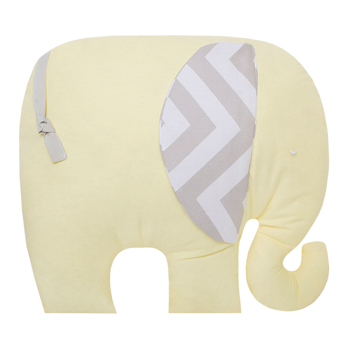 564bb6479c Almofada para bebe Elefantinho Brooklyn Amarela Biramar Baby no Bebefacil a  sua loja de roupas enxoval e acessorios para bebes - bebefacil