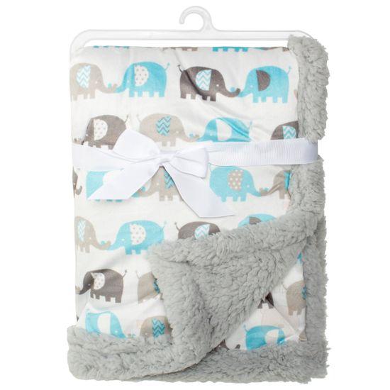 BUBA8262-A-Manta-para-bebe-em-Soft-Elefantinhos-Azul---Buba