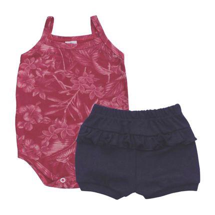 PB9165-moda-bebe-menina-conjunto-body-e-short-em-suedine-marinho-vermelho-piu-blu-no-bebefacil-loja-de-roupas-enxoval-e-acessorios-para-bebes