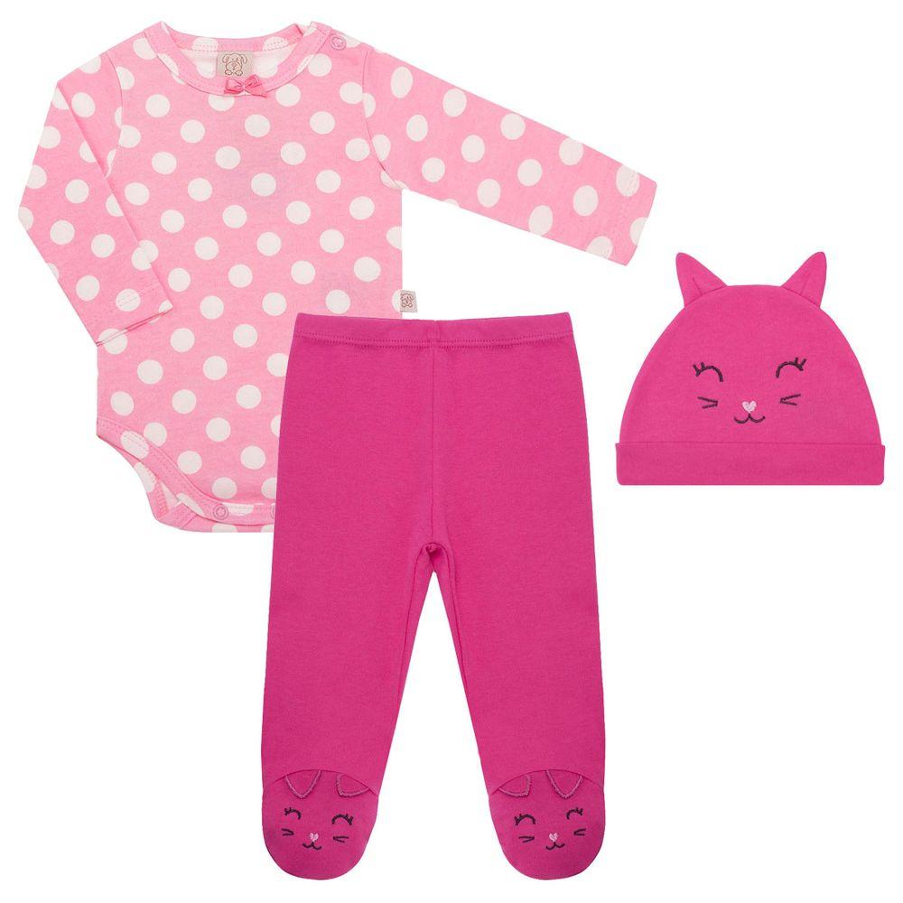 PL66054_A-moda-bebe-menina-conjunto-body-longo-calca-touca-suedine-meow-no-bebefacil-loja-de-roupas-enxoval-e-acessorios-para-bebes