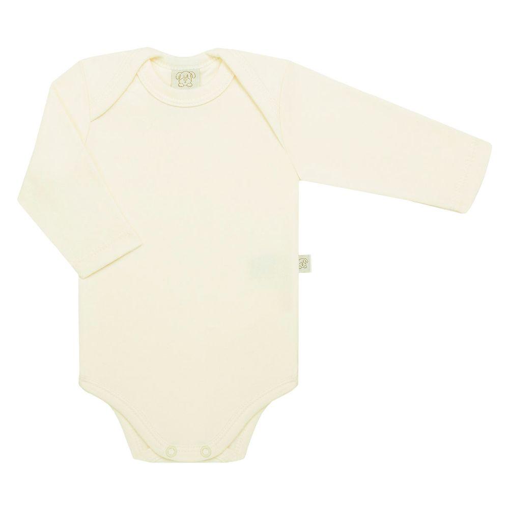 PL65438-MF-moda-bebe-menino-menina-body-longo-suedine-marfim-pingo-lele-no-bebefacil-loja-de-roupas-enxoval-e-acessorios-para-bebes