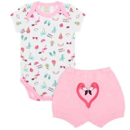 PL76017_A-moda-bebe-menina-conjunto-body-curto-shorts-em-malha-tropical-pingo-lele-no-bebefacil-loja-de-roupas-enxoval-e-acessorios-para-bebes