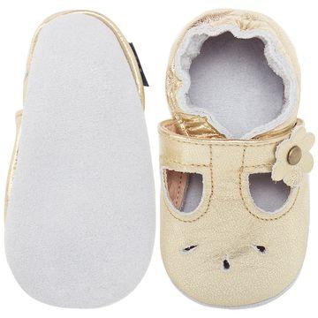 BABO36_B-sapatinho-bebe-menina-sandalia-boneca-metalizada-em-couro-eco-dourada-babo-uabu-no-bebefacil-loja-de-roupas-enxoval-e-acessorios-para-bebes