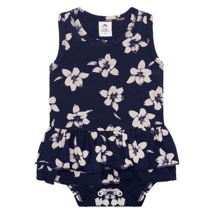PB6063_A-moda-bebe-menina-body-vestido-em-meia-malha-marinho-flores-piu-blu-no-bebefacil-loja-de-roupas-enxoval-e-acessorios-para-bebes