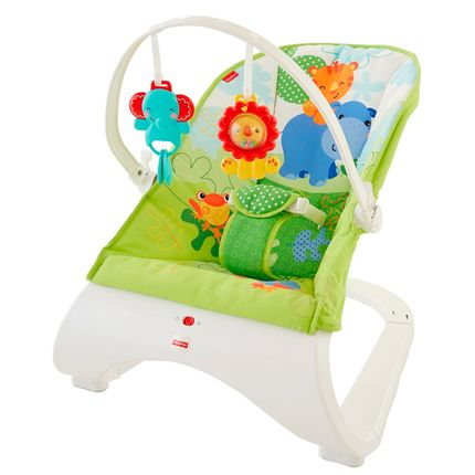 Cadeira de descanso Amigos da Floresta (0m+) - Fisher Price