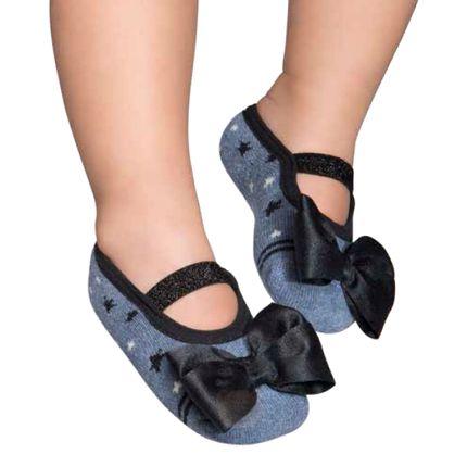 PK7033-AJ_A-moda-bebe-menina-meia-sapatilha-estrelas-e-laco-puket-no-bebefacil-loja-de-roupas-enxoval-e-acessorios-para-bebes
