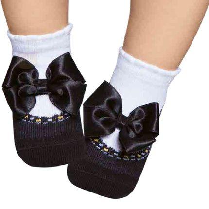 PK6935D-PT_A-moda-bebe-menina-meia-soquete-com-aplique-laco-preto-puket-no-bebefacil-loja-de-roupas-enxoval-e-acessorios-para-bebes