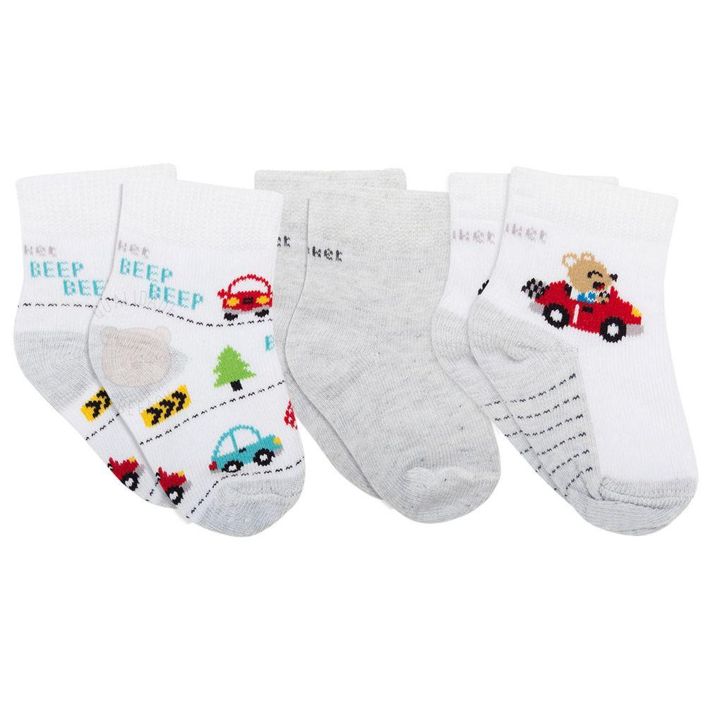 PK6963D-ME_A------moda-bebe-menino-meia-tripack-mescla-transportes-puket-no-bebefacil-loja-de-roupas-enxoval-e-acessorios-para-bebes