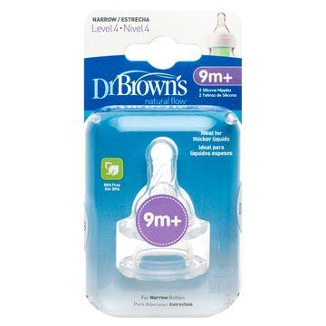 D363B-C-Bico-de-Silicone-Options-Boca-Larga-Fase-4--9m---2-unidades---Dr-Brown-s