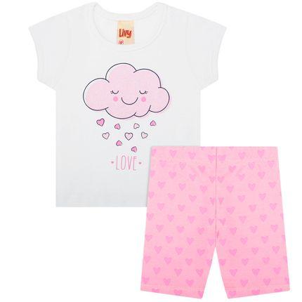 LV5452-RS_A-moda-bebe-menina-conjunto-camiseta-com-bermuda-em-cotton-pink-cloud-livy-no-bebefacil-loja-de-roupas-enxoval-e-acessorios-para-bebes
