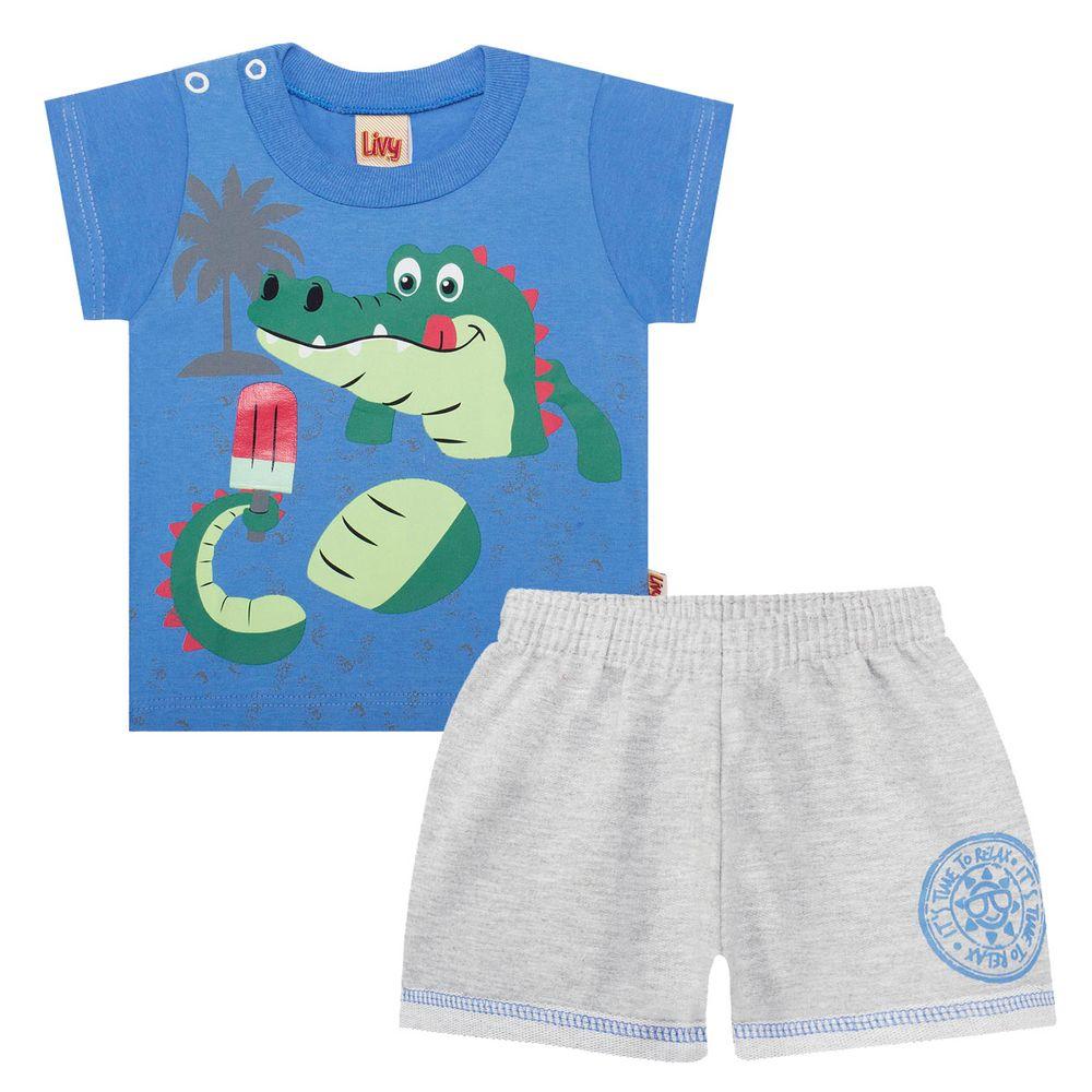 LV5535-A-moda-bebe-menino-conjunto-camiseta-shorts-moletinho-jacarezinho-livy-no-bebefacil-loja-de-roupas-enxoval-e-acessorios-para-bebes