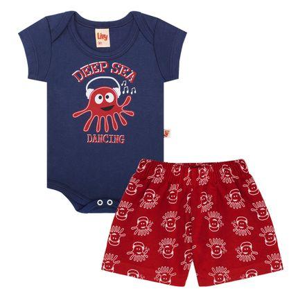 LV5537-A-moda-bebe-menino-conjunto-body-curto-shorts-em-malha-deep-sea-dancing-livy-no-bebefacil-loja-de-roupas-enxoval-e-acessorios-para-bebes