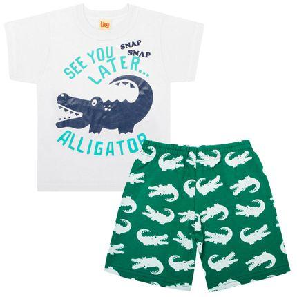 LV5551.VD_A-moda-bebe-menino-conjunto-camiseta-bermuda-moletinho-green-alligator-livy-no-bebefacil-loja-de-roupas-enxoval-e-acessorios-para-bebes