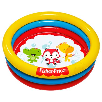 8013-3-A-Piscina-Inflavel-3-Circulos-com-25-Bolinhas--2-----Fisher-Price