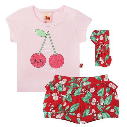 LV5453.VR_A-moda-bebe-menina-conjunto-blusinha-shorts-faixa-cabelo-cotton-cherry-livy-no-bebefacil-loja-de-roupas-enxoval-e-acessorios-para-bebes
