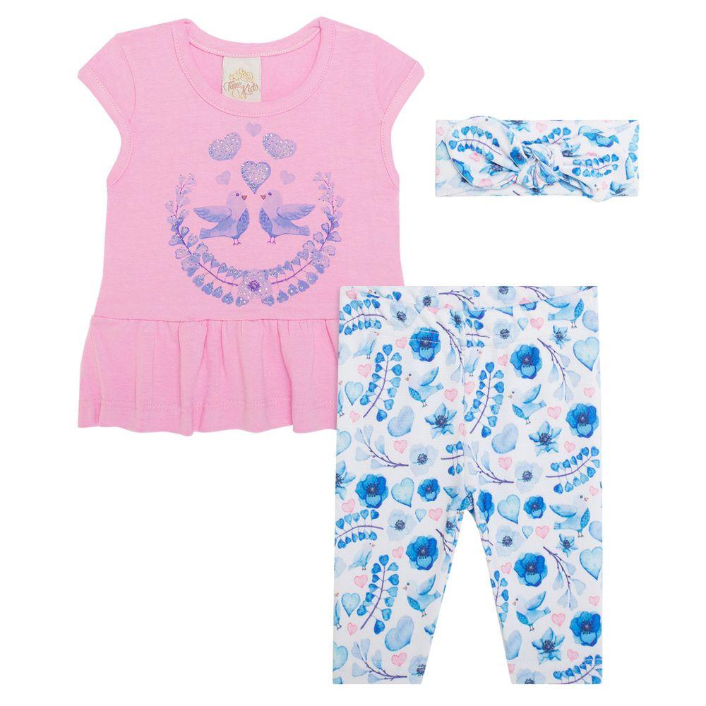 TK5615.AZ_A-moda-bebe-menina-bata-legging-faixa-de-cabelo-love-garden--time-kids-no-bebefacil-loja-de-roupas-enxoval-e-acessorios-para-bebes